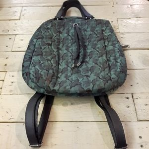 Max Studio Camouflage Backpack Purse